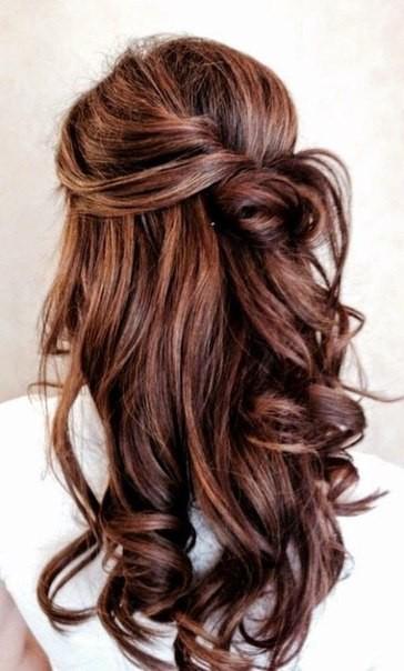 Крепление лент на волосах