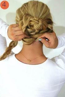 стильная прическа на основе кос