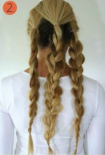 прическа с наращенными волосами