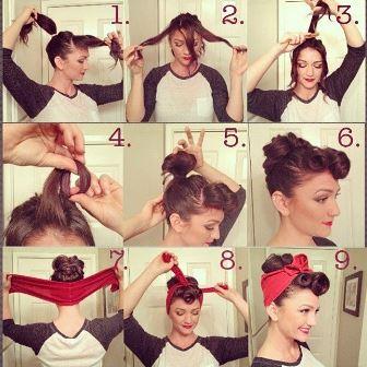 как завязать платок на голове, идеи