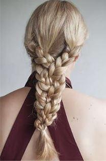 идея плетения косы