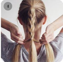 красивая прическа коса