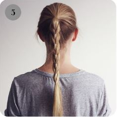 как заплести косу с резинками
