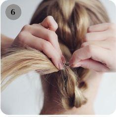 инструкция плетения косы с резинками