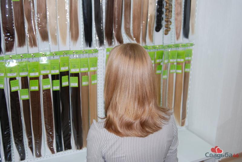 Волосы на заколках екатеринбург
