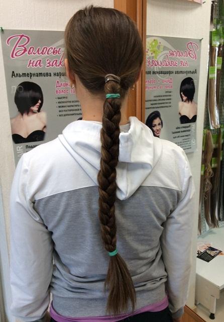 продам волосы в косе