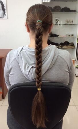 волосы в срезе необработанные купить
